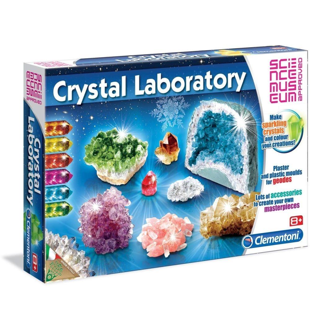 Clementoni - Set educational - Laboratorul de cristale -