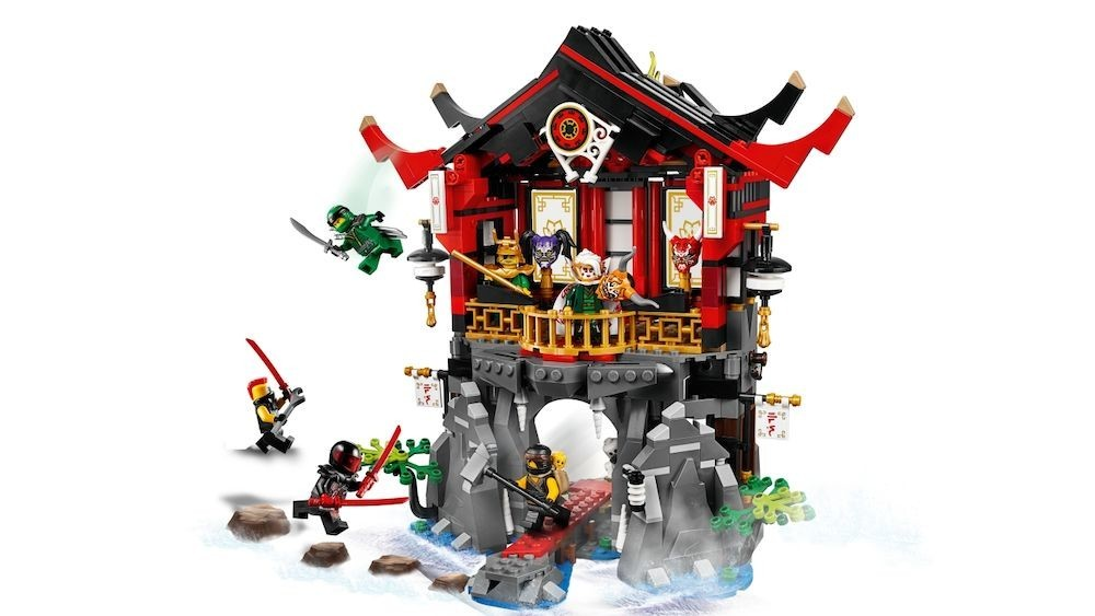 LEGO - LEGO Ninjago, Templul invierii 70643 -