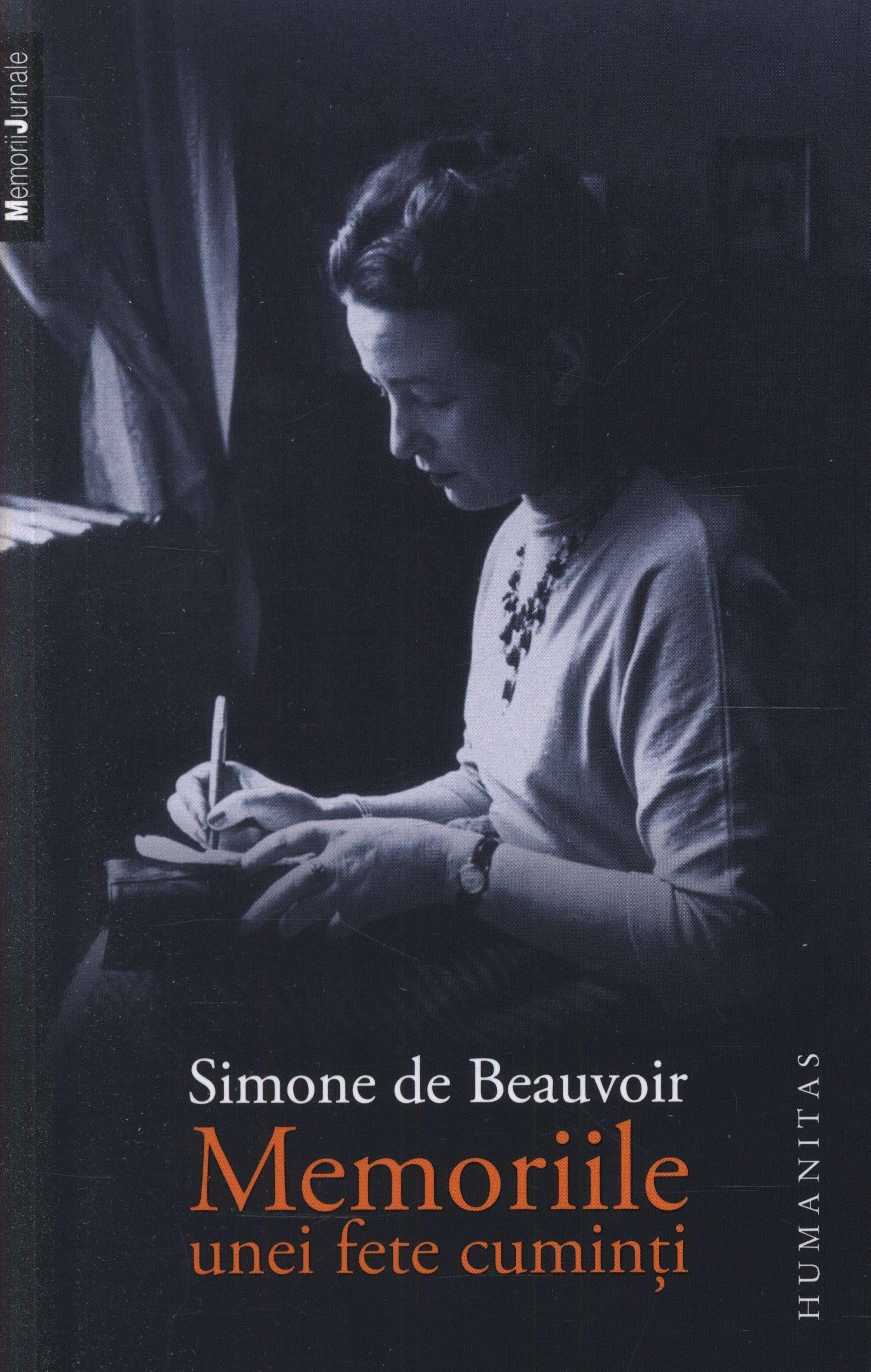 Simone de Beauvoir - Memoriile unei fete cuminti -