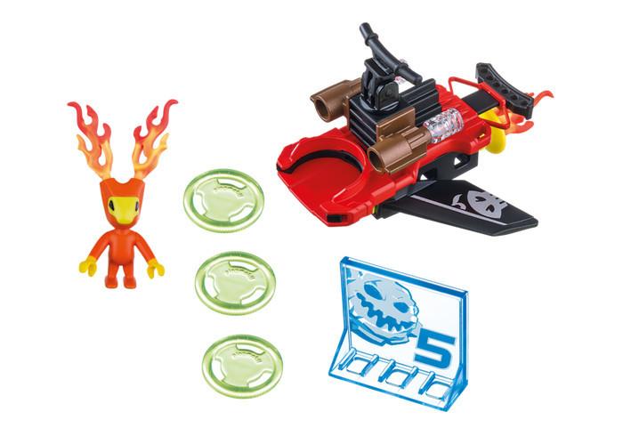 Playmobil - Playmobil Action, Sparky si lansator de discuri -