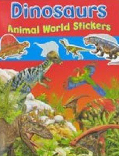 - Brown Watson Dinosaurs Animal World Stickers -