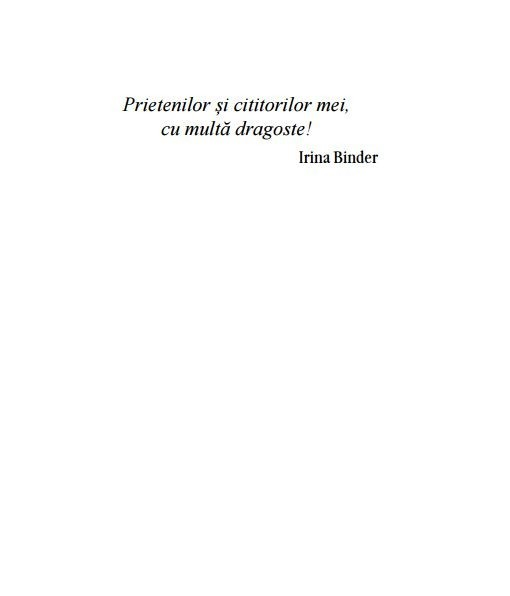 Irina Binder - Fluturi, vol. 3 -