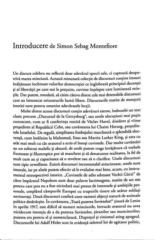 Simon Sebag Montefiore - Discursuri care au schimbat lumea -
