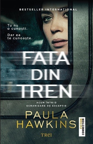 Paula Hawkins - Fata din tren - editie de film -