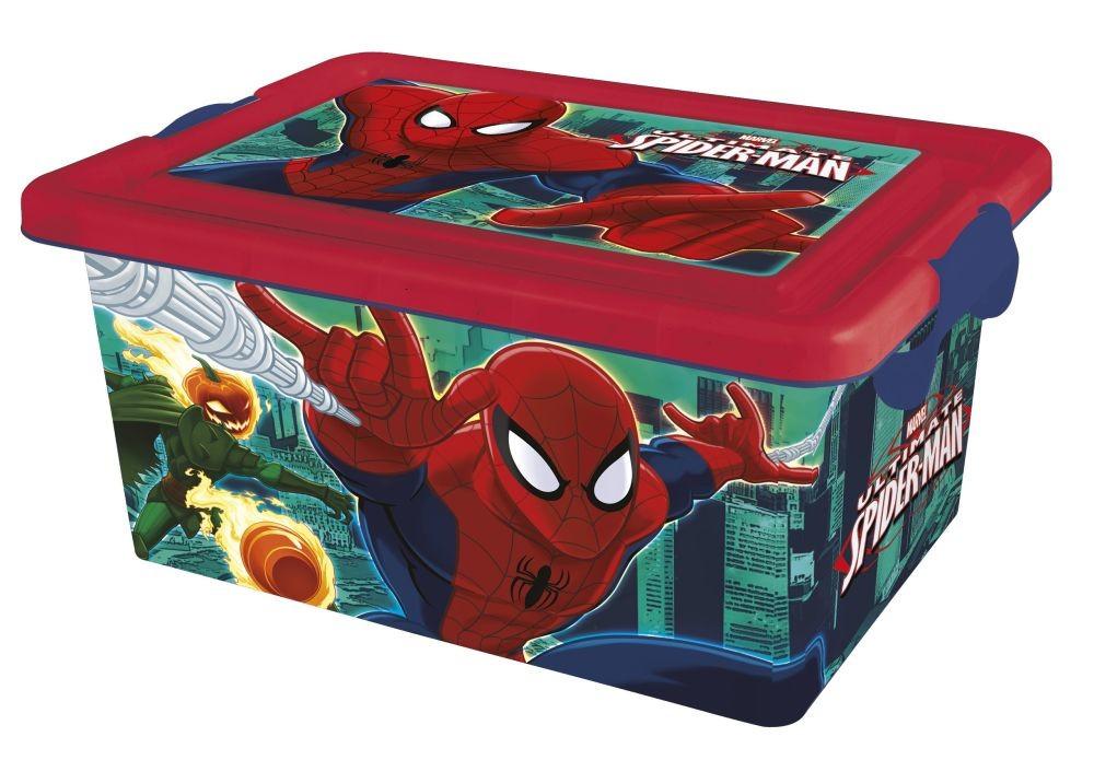 Spider-Man - Cutie depozitare Spider-Man, 7 litri -