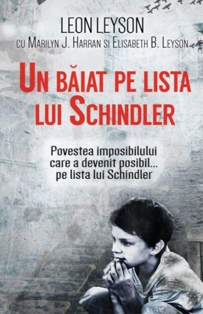Leon Leyson - Un baiat pe lista lui Schindler -