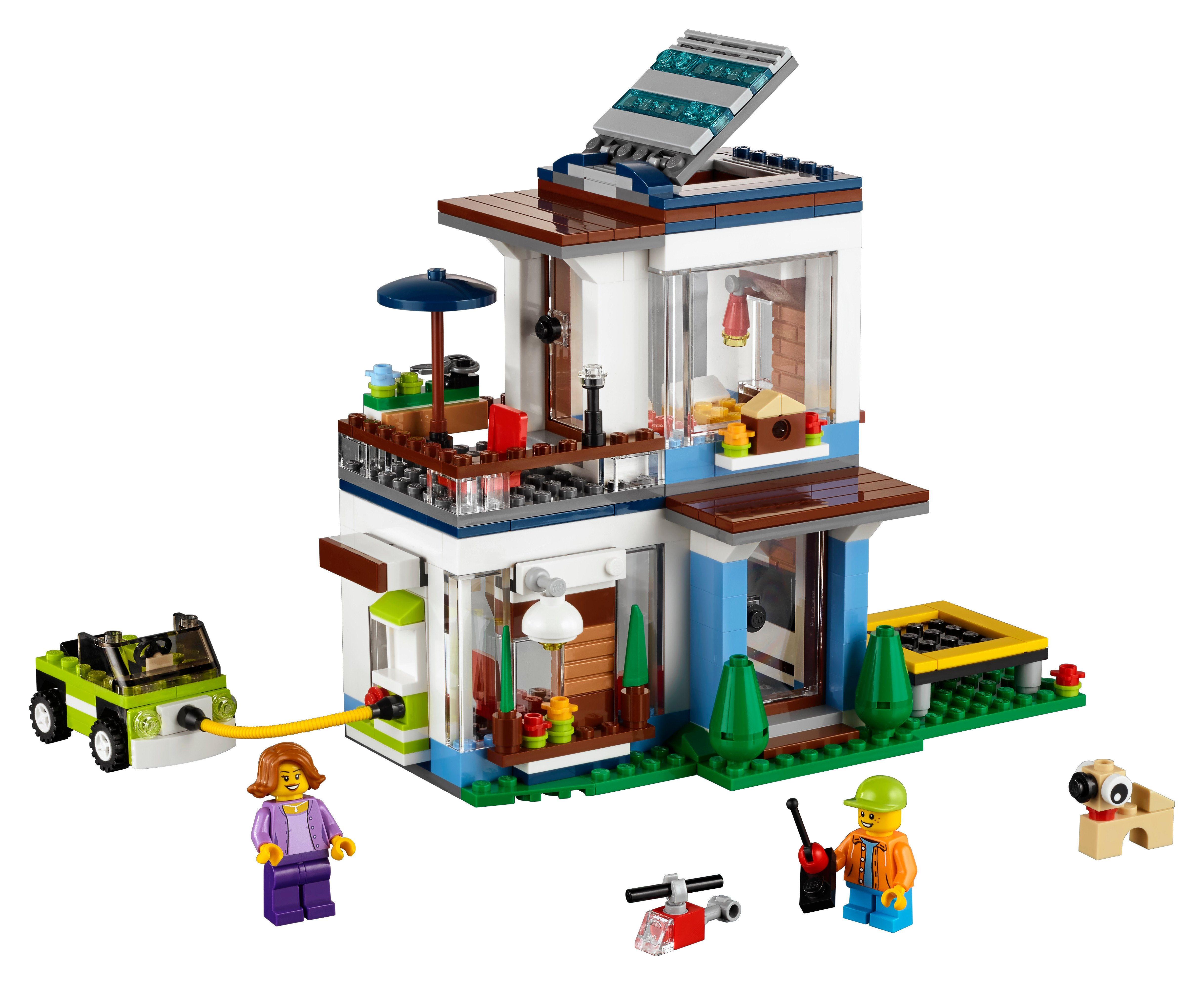 LEGO - LEGO Creator 3 in 1, Locuinta moderna -