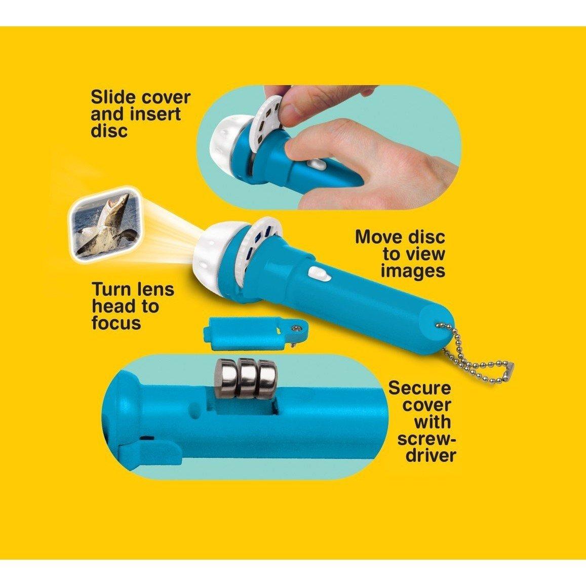 Brainstorm Toys - Jucarie educativa - Proiector rechini -