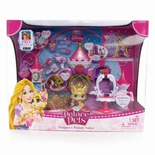 Disney - Disney Princess Palace Pets, Set Relaxare si rasfat la Spa - Summer, pisicuta lui Rapunzel -